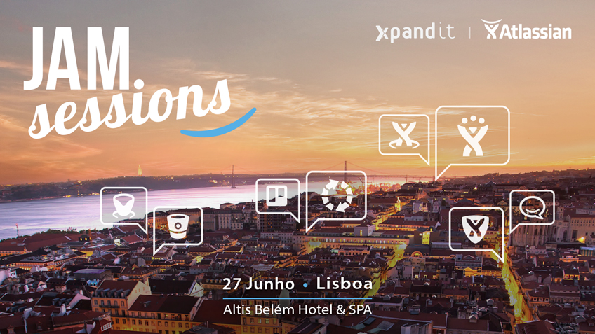 Xpand IT anuncia o evento Atlassian JAM Sessions 2017