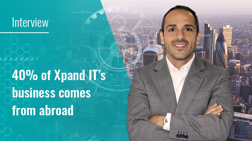 Interview: 40% of Xpand IT's business comes from abroad