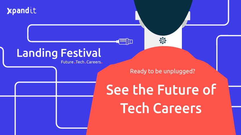 landing festival; tech careers