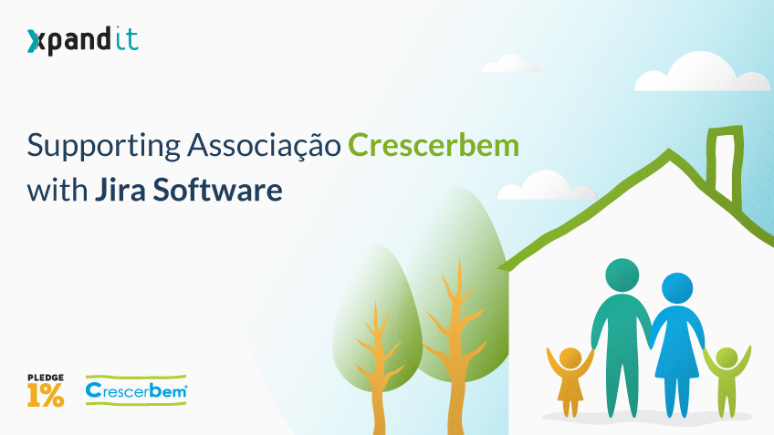 Pledge 1%: Supporting Associação Crescerbem with Jira Software