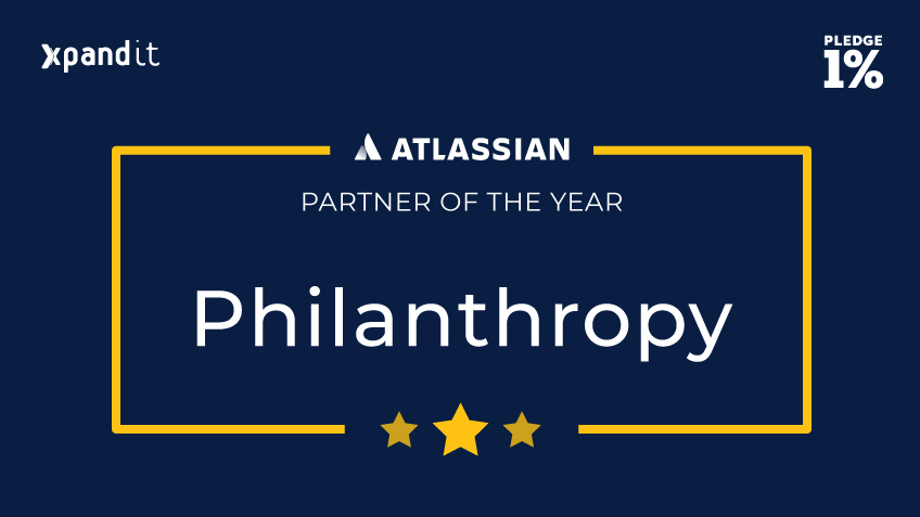 Xpand IT receives Atlassian Philantropy Partner of the Year 2018